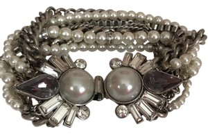 Chloe + Isabel heirloom pearl statement bracelet