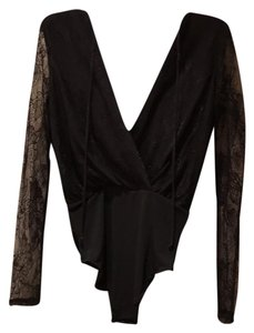 BCBGeneration Top Black with lace