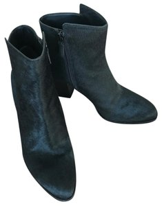 Cole Haan Black Hair CF/Suede Boots