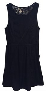 American Eagle Outfitters short dress Black Lace Little Aeo on Tradesy