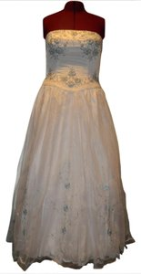 Amy Lee Hilton Bridal Formal Prom Wedding Strapless Dress