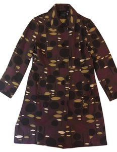 Boden Plum and brown Jacket