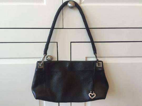Preload https://item1.tradesy.com/images/brighton-braided-black-leather-shoulder-bag-2090860-0-0.jpg?width=440&height=440