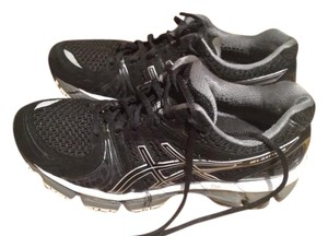 Asics Black and silver Athletic