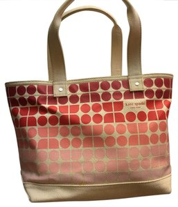 Kate Spade Tote in pink/red/mauve