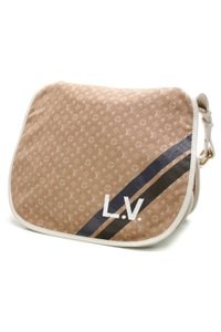 Louis Vuitton Camel (Brown), Ivory Messenger Bag