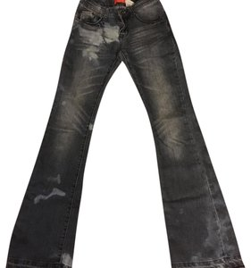 Butter Flare Leg Jeans-Distressed