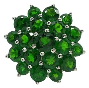 Elle Cross Elle Cross 8.40cttw Round Chrome Diopside 1