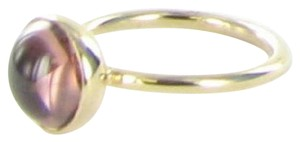 PANDORA 150185NBP Ring Poetic Droplet Blush 14K Yellow Gold Sz 7 54