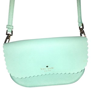 Kate Spade Leather Satchel in Teal