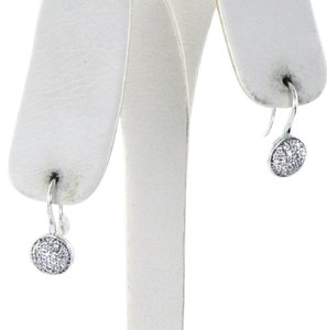 PANDORA 290734CZ Dazzling Droplets Clear CZ Earrings Sterling Silver $70
