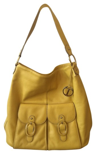 Preload https://item2.tradesy.com/images/talbots-yellow-pebbled-leather-tote-2090951-0-0.jpg?width=440&height=440