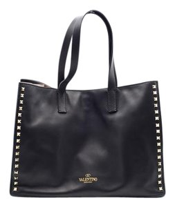 Valentino Women's Rockstud Large Tote in Black