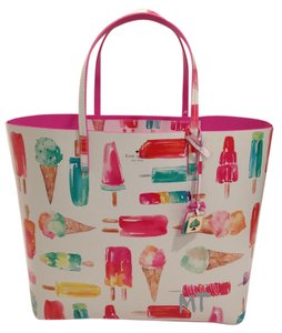 Kate Spade Animal Limited Edition Winter Tote in Multicolors