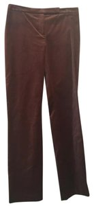 David Meister Straight Pants brown