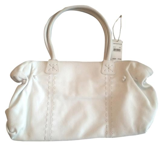 Preload https://item4.tradesy.com/images/carlos-falchi-doctor-white-leather-shoulder-bag-2090983-0-0.jpg?width=440&height=440