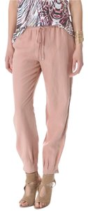 Diane von Furstenberg Relaxed Pants peach buff
