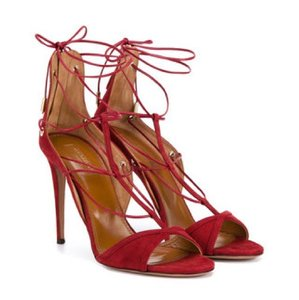 Aquazzura Rust Sandals