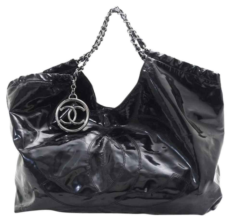 c6b194032409 Chanel Chainshoulder Cc Black Nylon/Leather Shoulder Bag - Tradesy