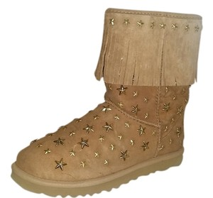 UGG Australia Jimmy Choo Uggs Brown Stars 8 tan Boots