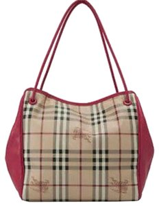 Burberry Haymarket Tote in canterbury