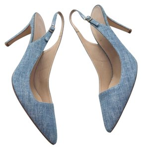 J.Crew Blue/Denim Pumps