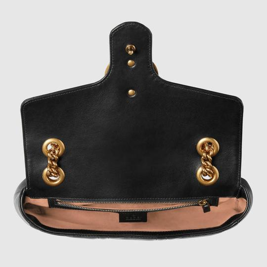 fe2f2fa2a850c4 Gucci Gold Bag With Pearls. Gucci Marmont Sale Gg Matelasse with Pearls  Gold Hardware Black Leather Shoulder Bag - Tradesy