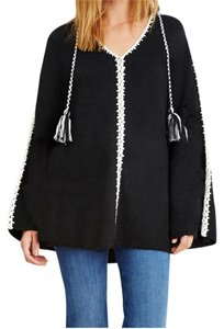 Other Cape Poncho Tassels Sweater