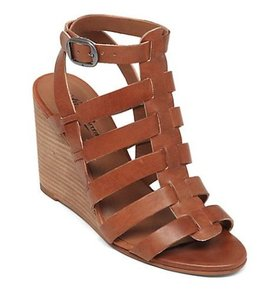 Lucky Brand Gladiator Reegan 10 40 Brown Wedges