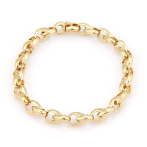 Cartier Cartier 18kt Yellow Gold Fine Polished Fancy Link Bracelet