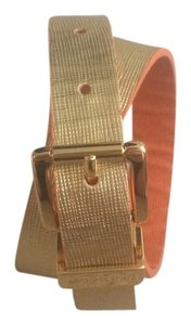 Michael Kors Reversible Michael Kors Gold hardware belt.