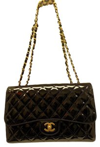 Chanel Karl Lagerfeld Jumbo Flap Shoulder Bag