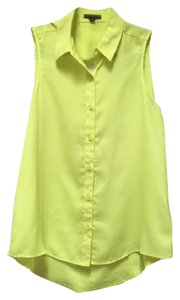 Express Top Neon Yellow