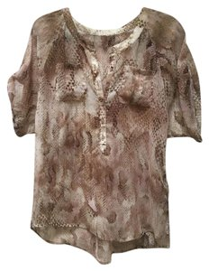 Express Top Pink / Brown
