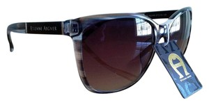 Etienne Aigner New Black Tortoise Debutante Sunglasses by BU/HN 57 16-130