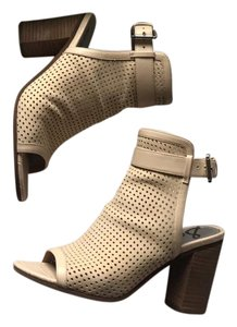 Sam Edelman perforated booties cream Boots