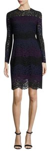 Elie Tahari Longsleeve Lace Sheath Casual Fitted Dress