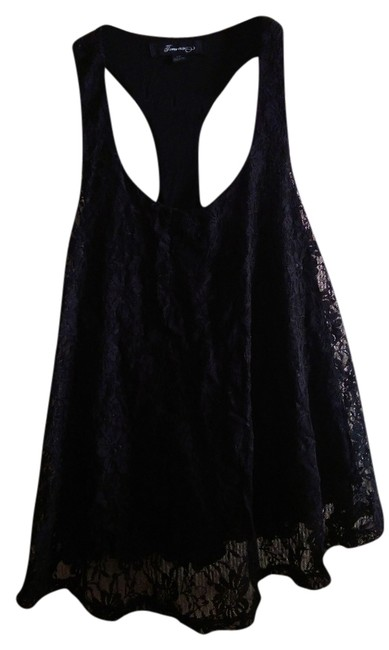 Preload https://item2.tradesy.com/images/forever-21-lace-racer-back-tank-top-black-2091121-0-0.jpg?width=400&height=650