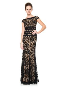 Tadashi Shoji Designer Imported Embroidered Evening Gown Dress