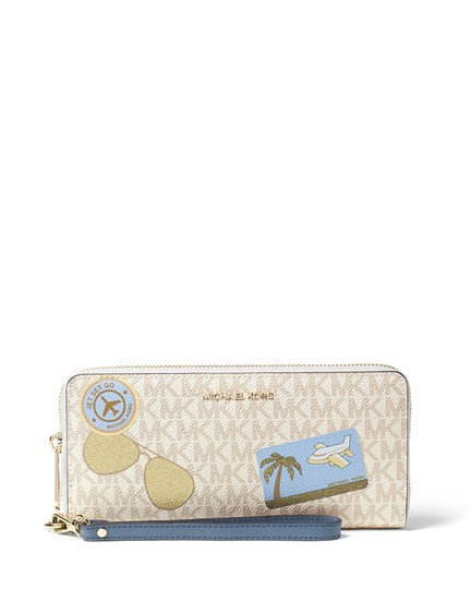 Michael Kors Michael Kors Illustrated Fly Away Travel Continental Wallet Image 2