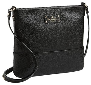 Kate Spade Tags Black Messenger Bag