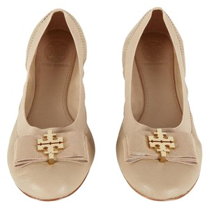 Tory Burch Light Beige Flats
