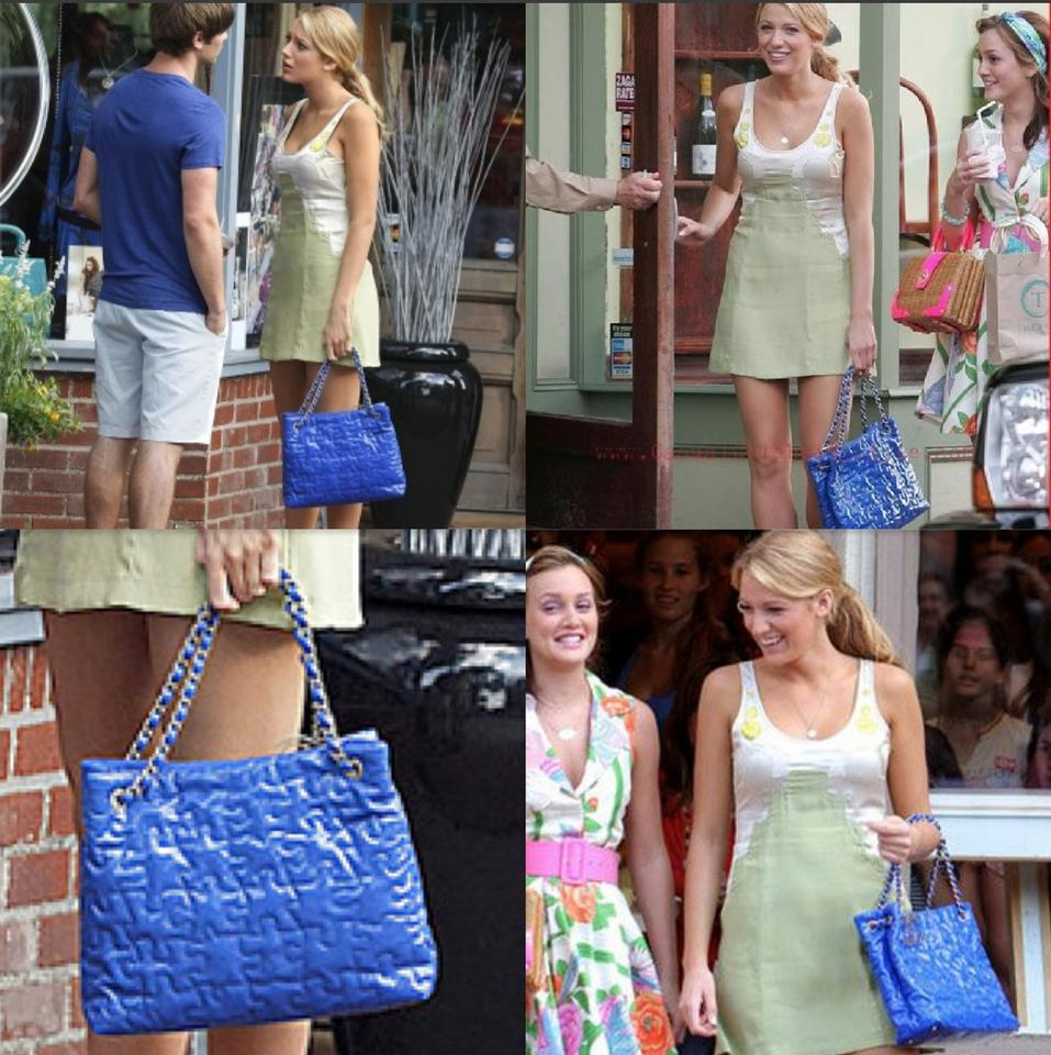 Chanel Cc Logo Grand Shopping Tote Blake Lively Gossip Girl Puzzle Piece  Shoulder Bag. 123456789101112 17cc537283dcd