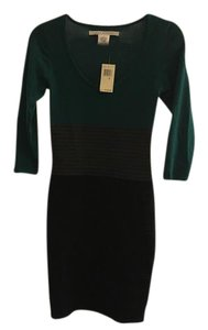 Max Studio short dress Green, grey and Black on Tradesy