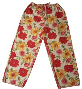 Tommy Hilfiger #floral Print #lightweight Fabric #spring #100% #nwot Relaxed Pants Floral print