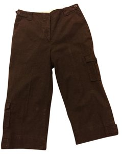 Dalia Capri/Cropped Pants Brown