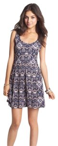 Mimi Chica short dress Blue on Tradesy