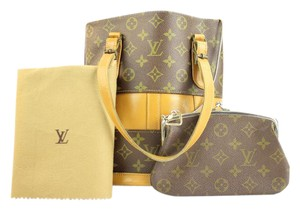 Louis Vuitton Bucket Marais Kisslock Tote