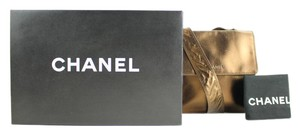 Chanel Sac Reporter Messenger Copper Cross Body Bag