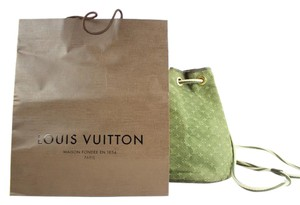 Louis Vuitton Hobo Noe Limited Edition Bucket Drawstring Backpack